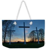 Crosses Weekender Tote Bag