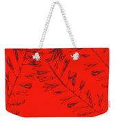 Crossing Branches 12 Weekender Tote Bag