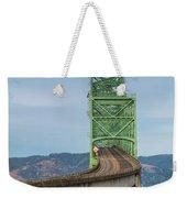 Crossing Columbia Weekender Tote Bag