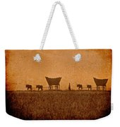 Crossing Kansas Weekender Tote Bag