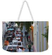 Crossing San Juan Weekender Tote Bag
