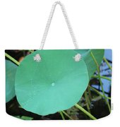 Crossing The Lily Pond Outback Number One Weekender Tote Bag