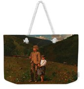 Crossing The Pasture Weekender Tote Bag