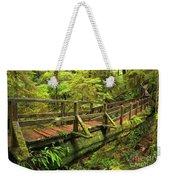Crossing The Rainforest Ravine Weekender Tote Bag