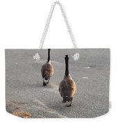 Crossing The Street Weekender Tote Bag