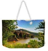 Crossing The Susquehanna Weekender Tote Bag