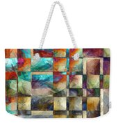 Crossover Abstract Pencil Weekender Tote Bag
