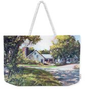 Crossroads Farmhouse Weekender Tote Bag