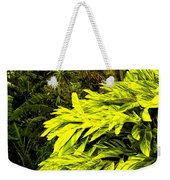 Croton Cascading Down The Hillside Weekender Tote Bag