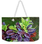 Crotons 2 Weekender Tote Bag