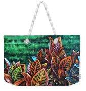 Crotons 4 Weekender Tote Bag