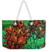 Crotons 5 Weekender Tote Bag