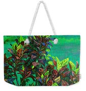 Crotons 7 Weekender Tote Bag