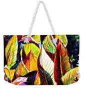Crotons Sunlit 2 Weekender Tote Bag