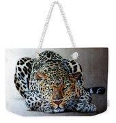 Crouching Leopard Weekender Tote Bag