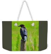 Crow 5 Weekender Tote Bag