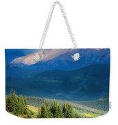 Crow On A Mountainside Weekender Tote Bag