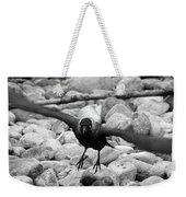 Crow Takes Off Weekender Tote Bag