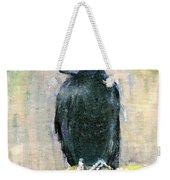Crow Vigilant Weekender Tote Bag