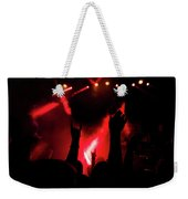 Crowd At A Rock Concert Weekender Tote Bag