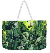 Crowded Conditions On The Mayflower Weekender Tote Bag
