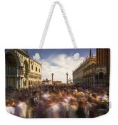 Crowded On St. Mark's Square Weekender Tote Bag