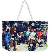 Crowded Street Weekender Tote Bag