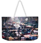 Crowded Streets Weekender Tote Bag