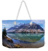 Crowfoot Reflection Weekender Tote Bag
