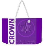 Crown Chakra Series Three Weekender Tote Bag