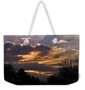 Crown Cloud Weekender Tote Bag