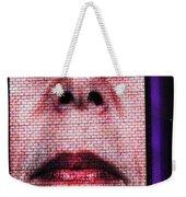 Crown Fountain Silhouettes Weekender Tote Bag