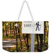 Crown Hill Road 1885 Weekender Tote Bag
