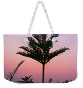 Crown In Pink Sky Weekender Tote Bag