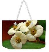 Crown Of Thorns Weekender Tote Bag