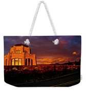 Crown Point At Sunset Weekender Tote Bag