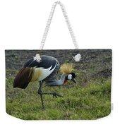 Crowned Crane Weekender Tote Bag