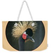 Crowned Crane - Naturally Blonde - Transparent Weekender Tote Bag