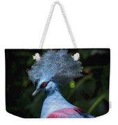 Crowned Pigeon Weekender Tote Bag
