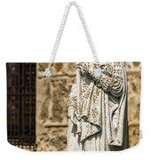 Crowned Statue - Toledo Spain Weekender Tote Bag