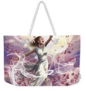 Crowned With Glory... Dancing In Glory Weekender Tote Bag by Tamer and Cindy Elsharouni