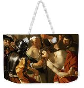 Crowning With Thorns Weekender Tote Bag by Dirck van Baburen