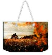 Crows And Corn Weekender Tote Bag