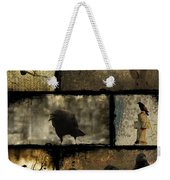 Crows And One Rabbit Weekender Tote Bag