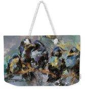 Crows In A Row Weekender Tote Bag