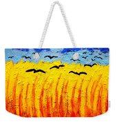 Crows Over Vincent's Field Weekender Tote Bag