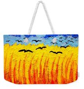 Crows Over Vincent's Field Weekender Tote Bag