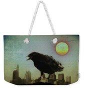 Crowzilla Weekender Tote Bag