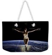 Crucified Tellus Weekender Tote Bag