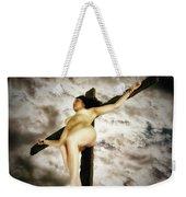 Crucified Woman In Upward View Weekender Tote Bag